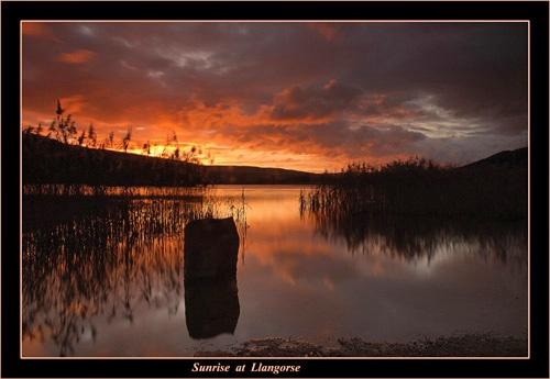 Sunrise at Llangorse by chrissycj