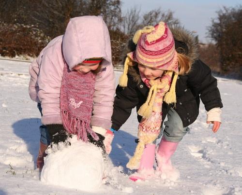 friends in the snow by Sarahmann