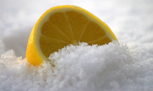 Lemon snow by AlistairF