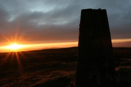 Slieve gallion Sunset by chenderson