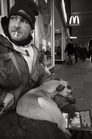 London homeless by markmurton