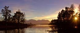 Ben Nevis from Loch Lochy