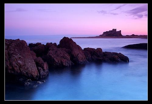 Bamburgh twilight by gordon.m