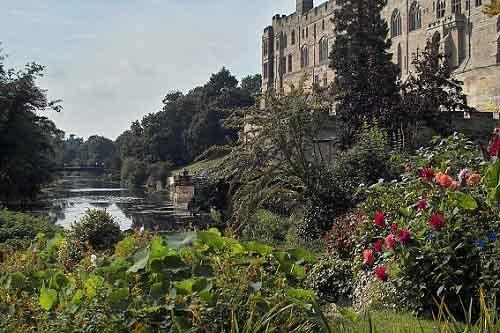 Warwick Castle by bargee