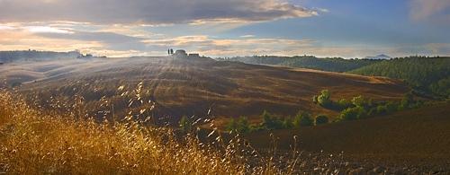 Tuscan Morning by photographerjoe