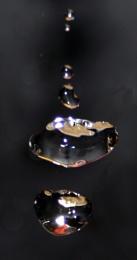 Dark water drop