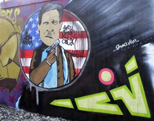 Graffiti Art No 2 by john ballance