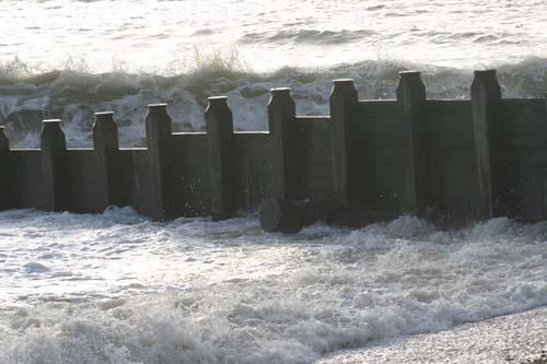 Rough Sea by chrisskipp