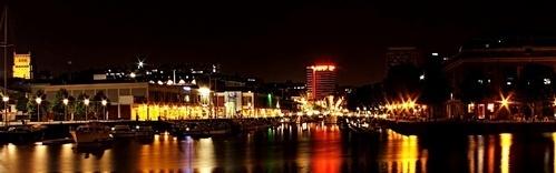 Bristol Waterfront by Night by iainpb