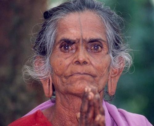 Very Old woman by rajasekaranamie