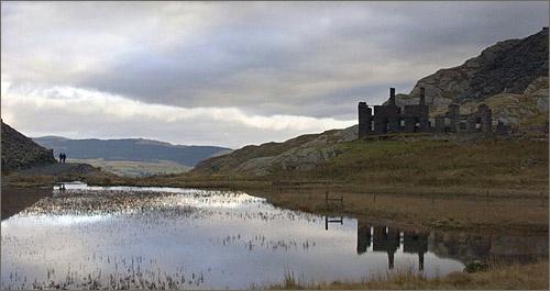Walkers in Wales by photographerjoe