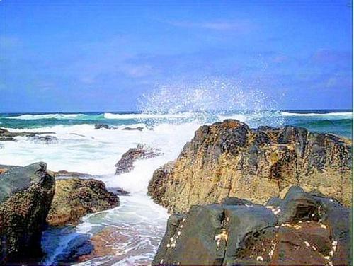 Sea spray by Sina