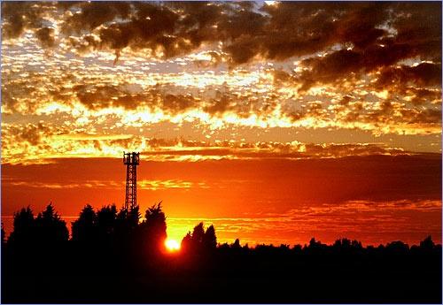 Sunset by Bainy