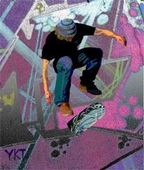 Urban Boarder by YvonneKTurner