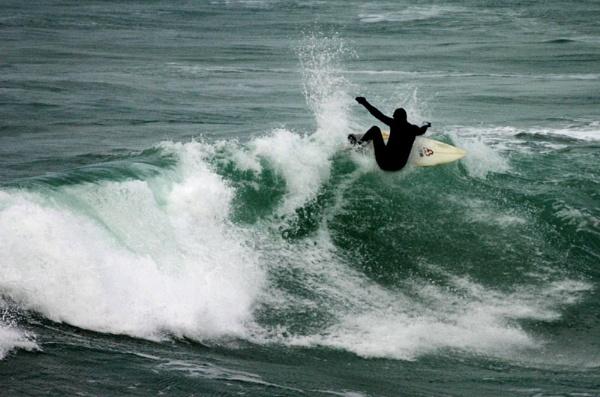 Winter Surfer by Saxon Marsh
