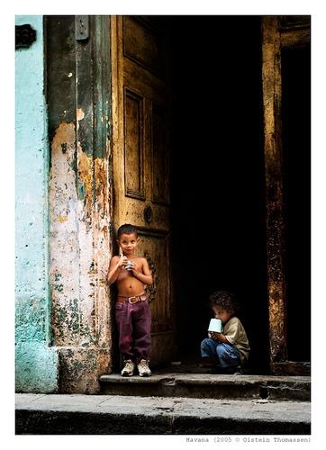 children in havana by oisteinth
