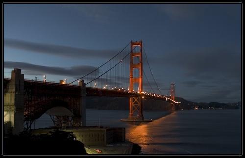 Golden Gate Lights by liparig