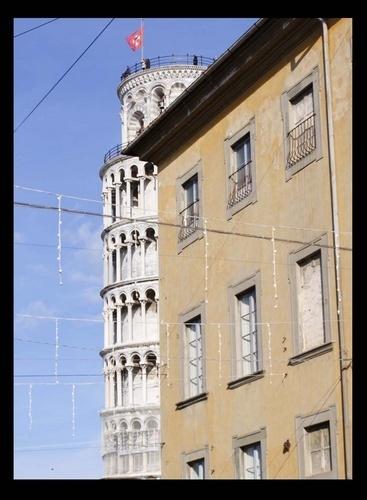 The Hidden Tower of Pisa by jimweir80