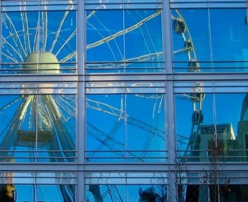 Reflected wheel by geoffwd