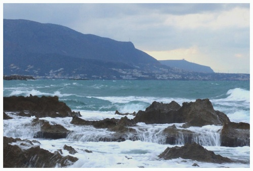 Stormy seas by Paul_cats