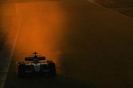 F1 Testing Barca