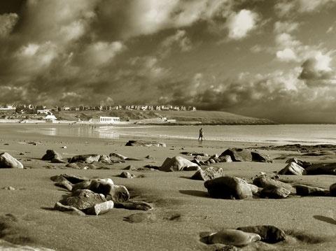 Winter beach 2 by franken