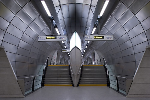 Southwark tube station, Jubilee extension by pikey