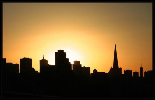 San Francisco Skyline by liparig
