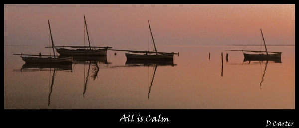 All is Calm by dcart29