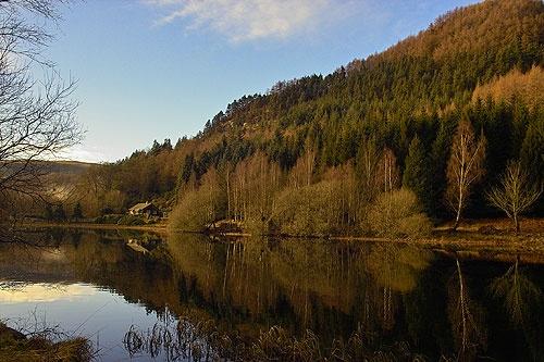 small loch near dunkeld by Phil_Lid