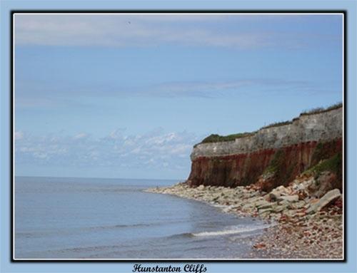 Hunstanton cliffs by sotaylor