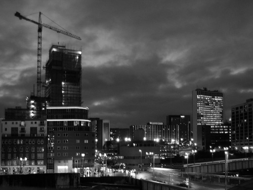 Birmingham Night by gpwalton