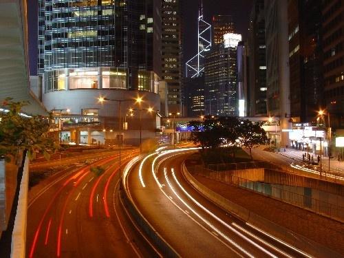 Hong Kong at Night by tomfrank