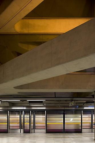 Bermondsey tube station, london. by pikey