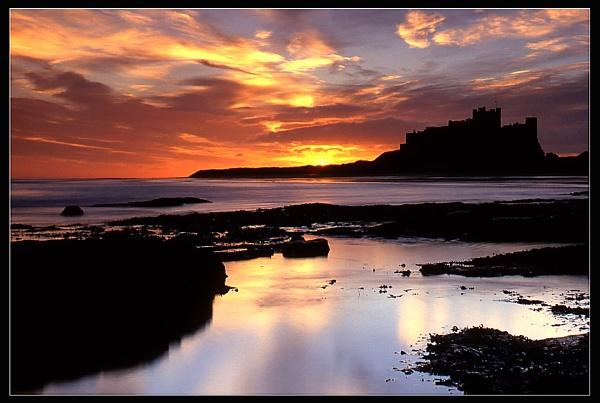 Bamburgh sunrise by gordon.m
