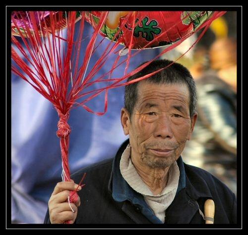 Balloon Seller by mr chilli