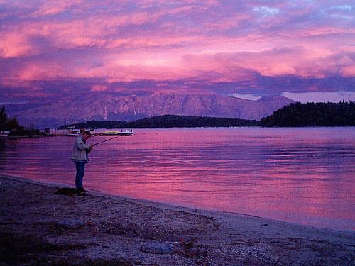 sunset by SmileySteve