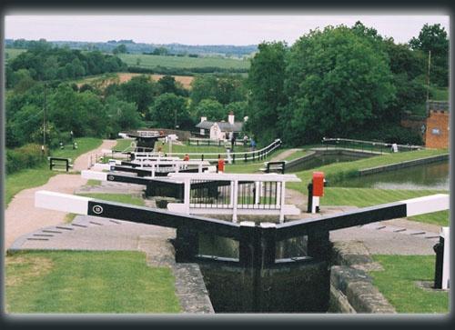 Foxton Locks by sotaylor