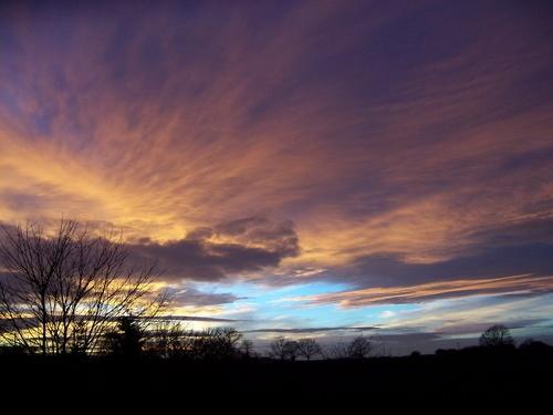 Winter Sunset by Hobo