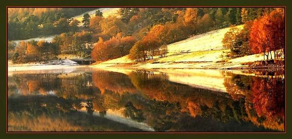WINTER REFLECTION. by sunshot