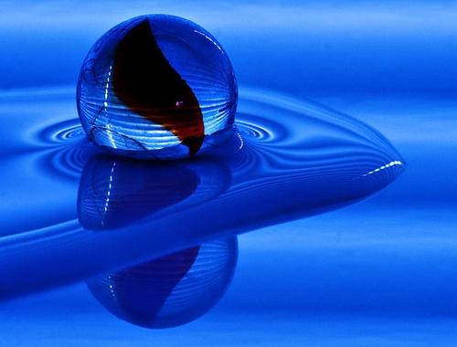 Blue by melbrackstone