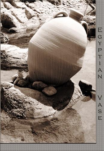 Egyptian Vase by JCowlan