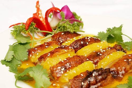 Cantonese Roast Duck with Fresh Orange by fredchan