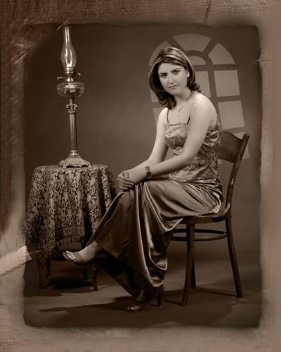 Eastern Lady by Maryam