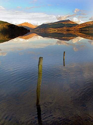The Arrochar Alps from Loch Fyne by robs