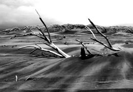 Striated sand highways