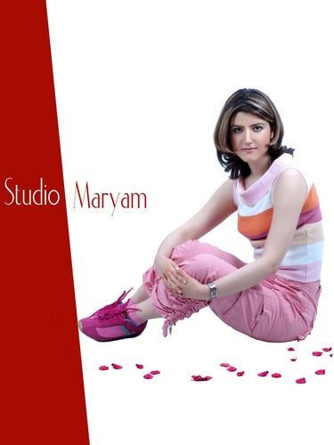 Pink Rose by Maryam