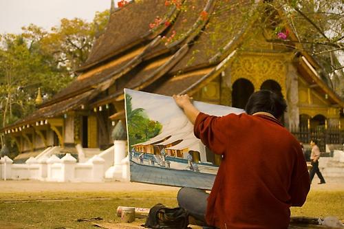 Local Artist, Luang Prubang by the_lane