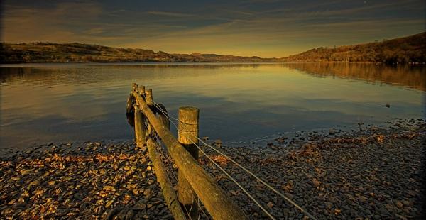 Evening light Bala lake by pierre