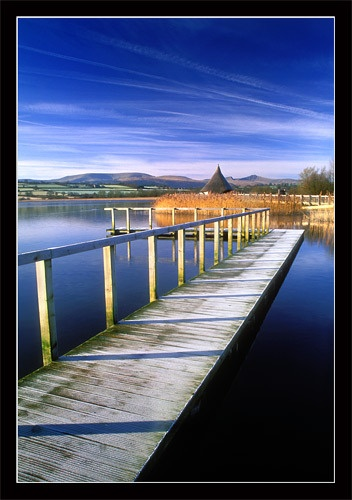 Llangors jetty by jond